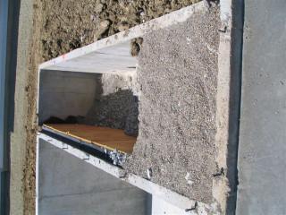 Gravel under porch area - not sure why it's gravel