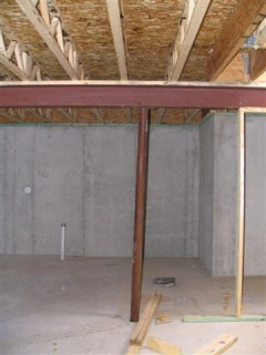 Basement, Beam, and Support