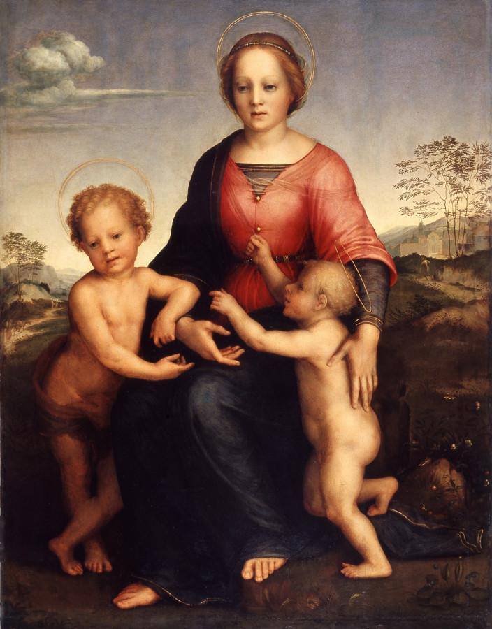 Мадонна с Младенцем и Иоаном Крестителем