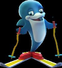 Будет ли дельфин на лыжах талисманом Олимпиады-2014 в Сочи