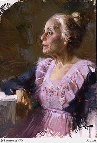 Женщина на полотнах художника pino giuseppe