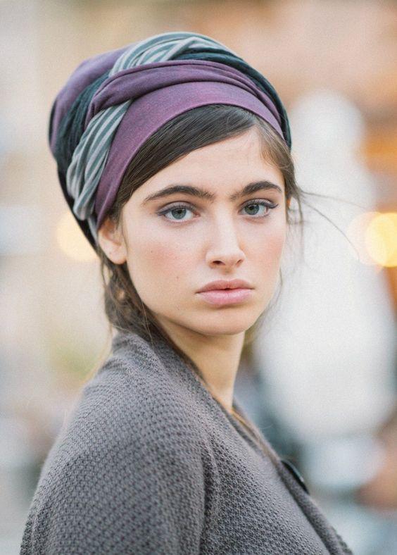 Post a comment - Носим платки, палантины, шарфы и шали с удо