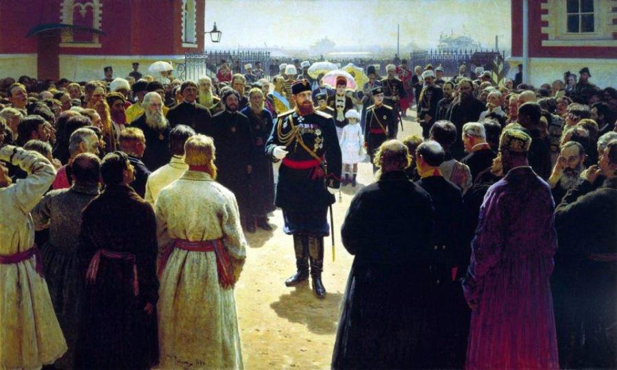 прием волостных старшин 1885.jpg