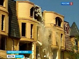 Дом в Вешках разрушен