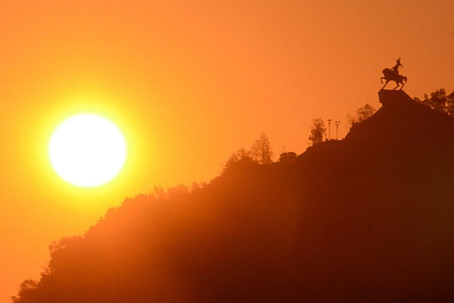 как сфотогрпфировать закат солнца