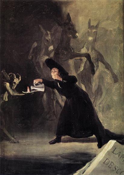 Гойя-Лампа-дьявола-(1798)