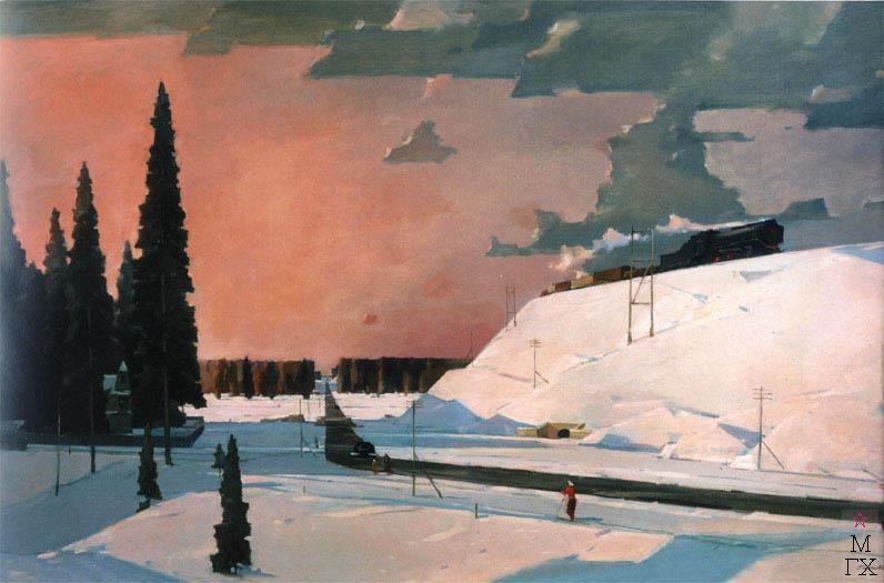Нисский Февраль, Подмосковье, 1957