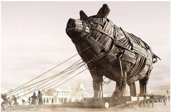 Троянская свинья