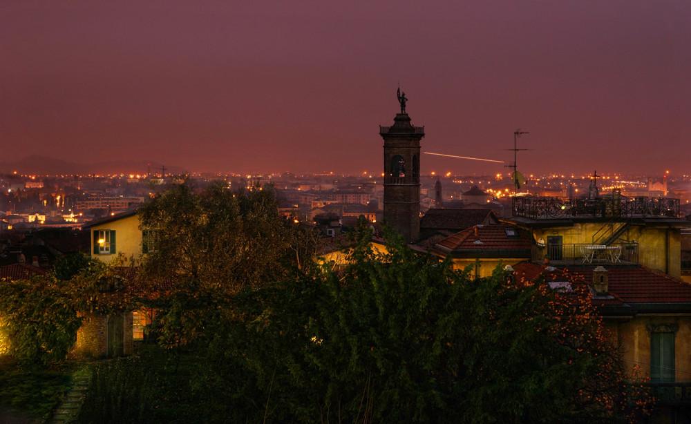 Альпы, Италия, Бергамо, Ситта Альта, Citta Alta, Bergamo (1)