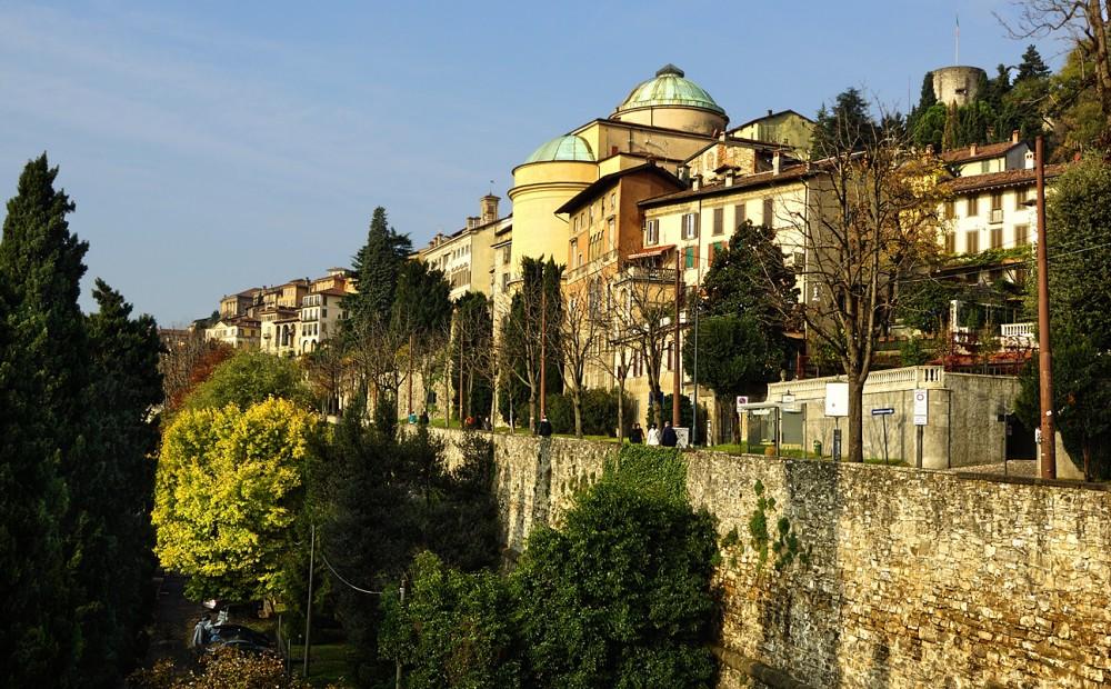 Альпы, Италия, Бергамо, Ситта Альта, Citta Alta, Bergamo (7)