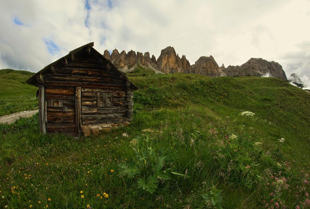 Доломитовые Альпы, Италия, Валь Гардена, Пассо Гардена (8)