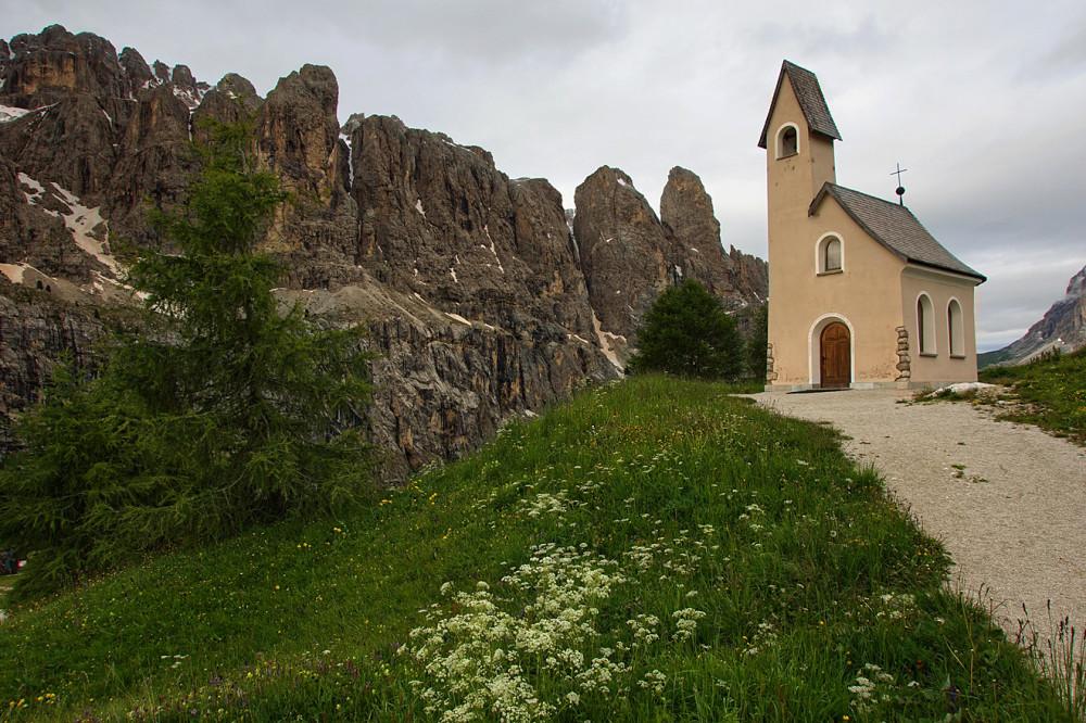 Доломитовые Альпы, Италия, Валь Гардена, Пассо Гардена (11)