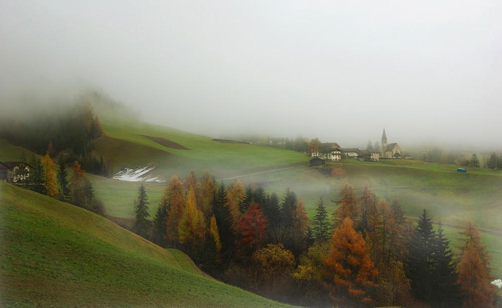 Доломитовые Альпы, Италия, Одуванчиковая долина, Санта Маддалена (1)