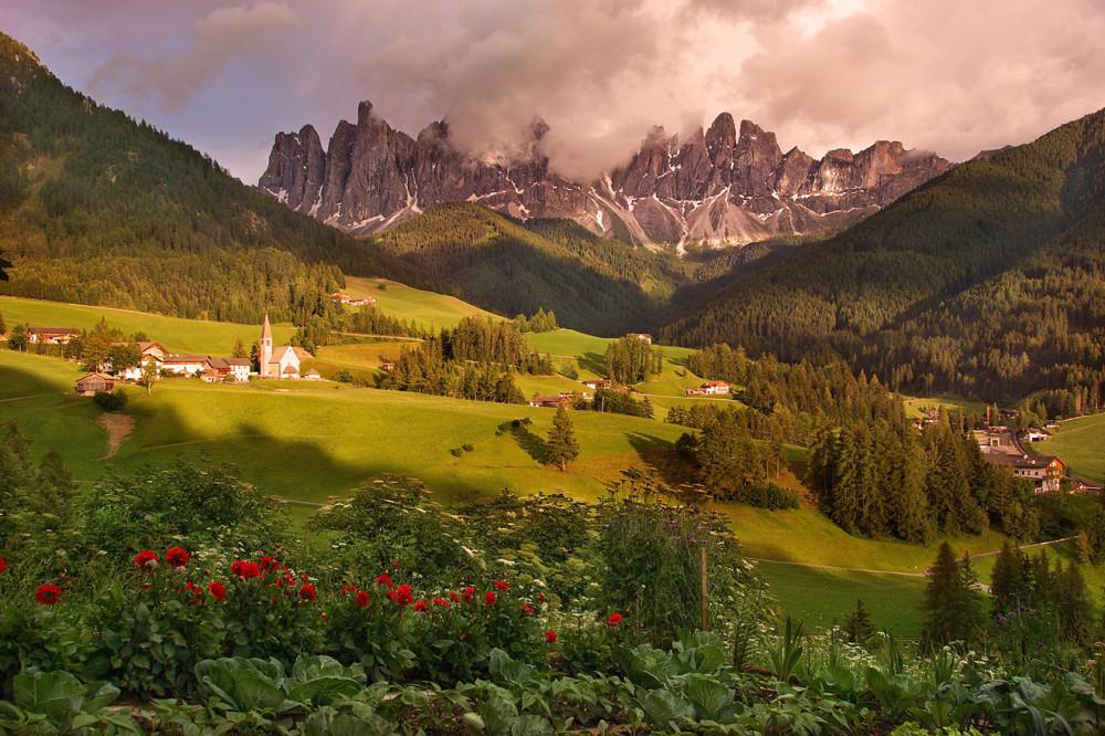 Доломитовые Альпы, Италия, Одуванчиковая долина, Санта Маддалена (2)