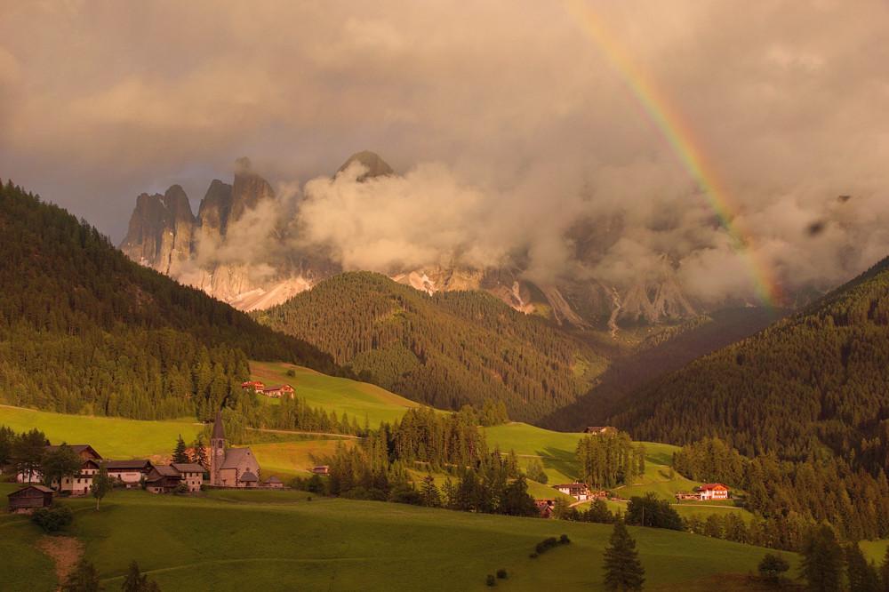 Доломитовые Альпы, Италия, Одуванчиковая долина, Санта Маддалена (4)