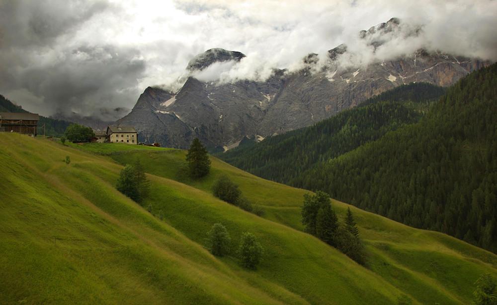 Италия, Доломиты, Альпы, Ла Валле, Венген (8)