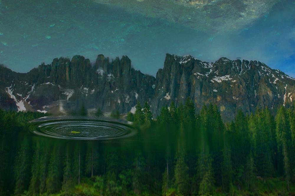 Италия, Доломиты, Альпы, Озеро Карреца (4)