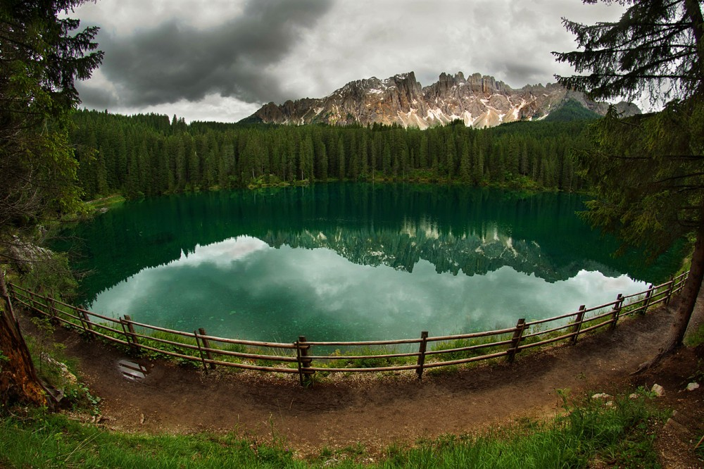 Италия, Доломиты, Альпы, Озеро Карреца (6)