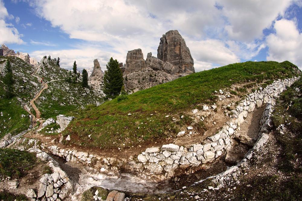 Доломиты, Италия, Чинкве терре (3)