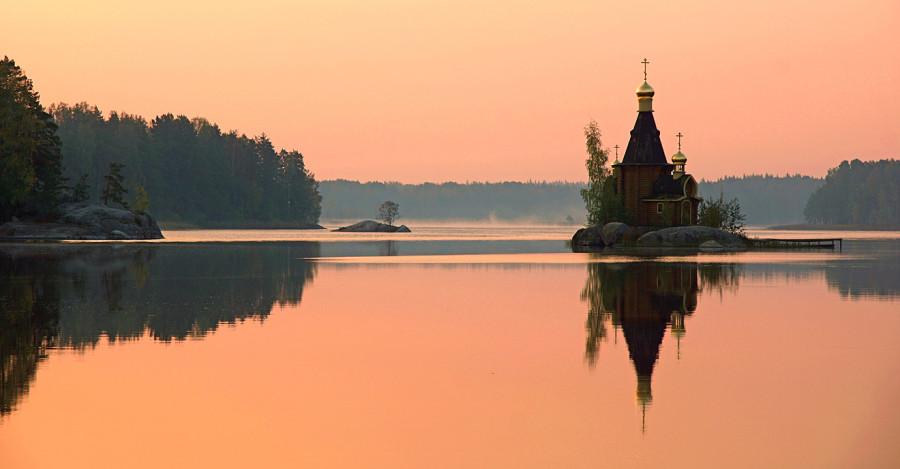 Картинки природа с церковью