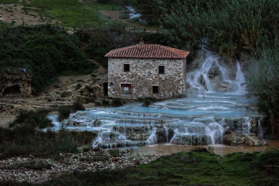 Тоскана, Tuscany , Saturnia di terme, Сатурния ди терме (2)