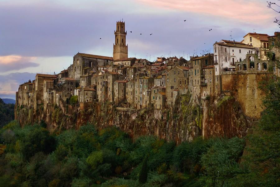 Тоскана, Tuscany Питильано, Pitilgliano (3)