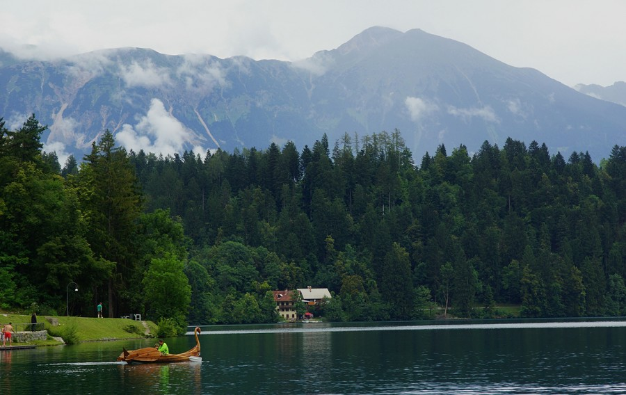 Озеро Блед, Бледский Замок, Словения (12).JPG