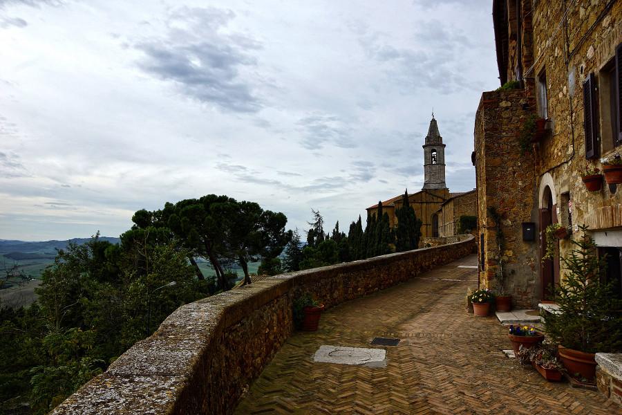Тоскана, Пиенца,  Tuscany, Pienza (2)