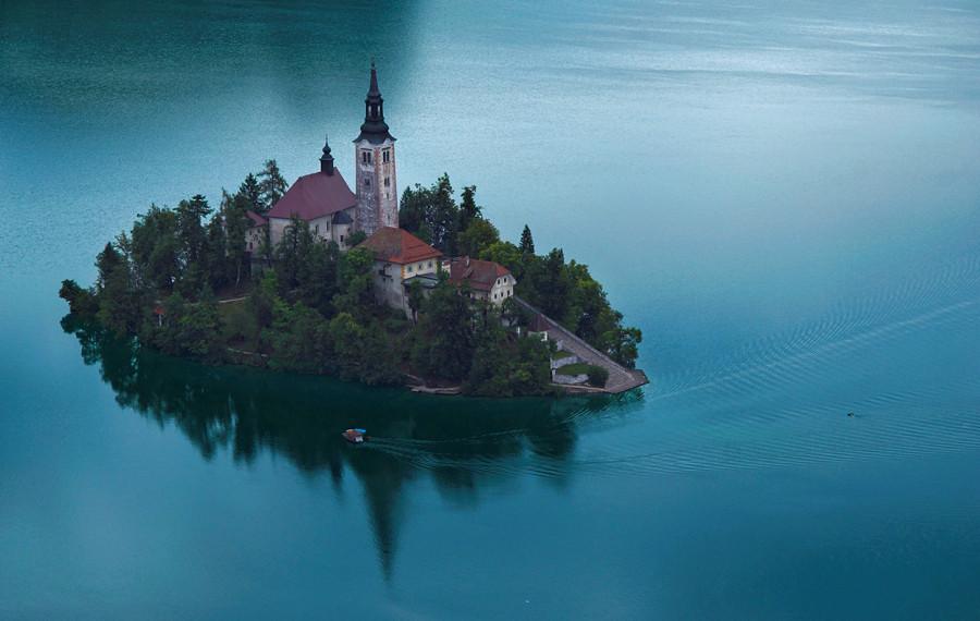 Озеро Блед, Словения (3).jpg