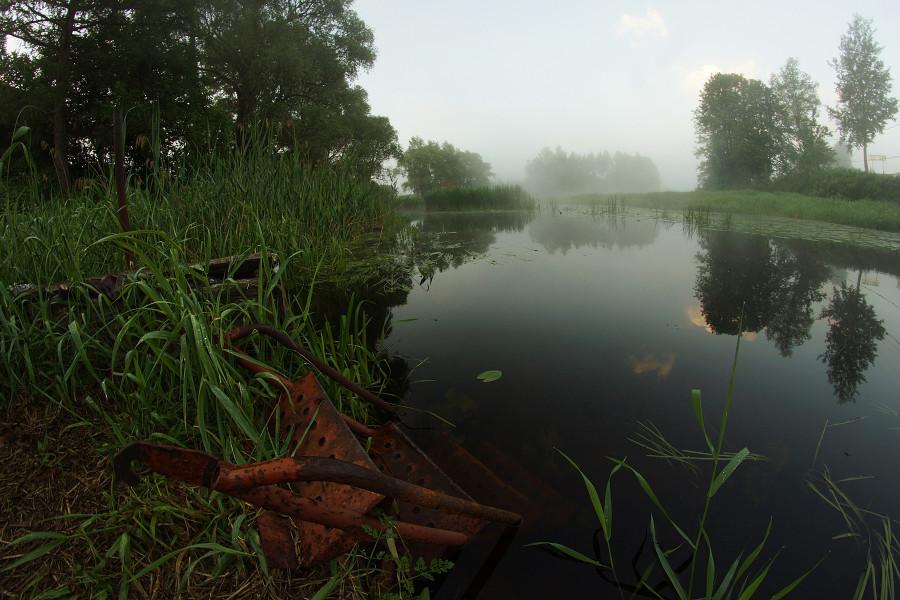 Деревня Церковище, Река Усвяча (10)