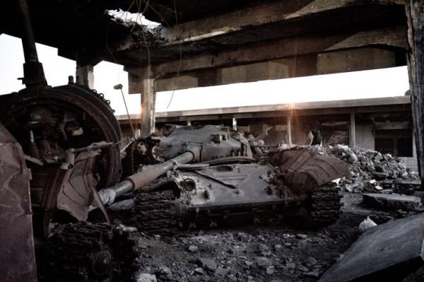 ливия-танк