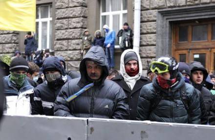 Корчинский в киевской провокации спецслужб 2