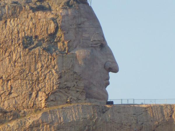 P1120338 Crazy Horse closeup, web