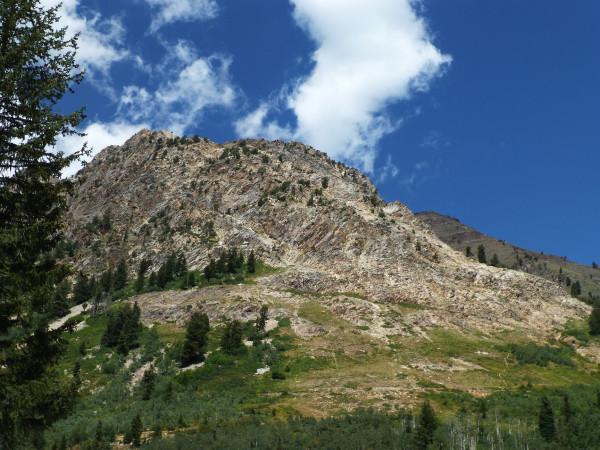 P1130710 Mtn seen from Hidden Peak 40%