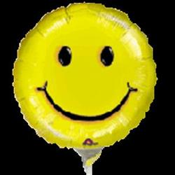 smiley face balloon