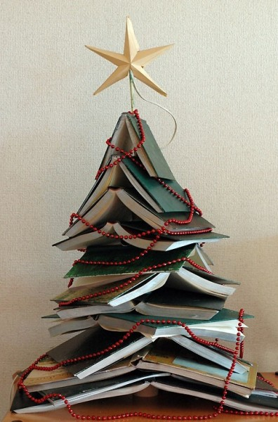 Book Tree with red beads