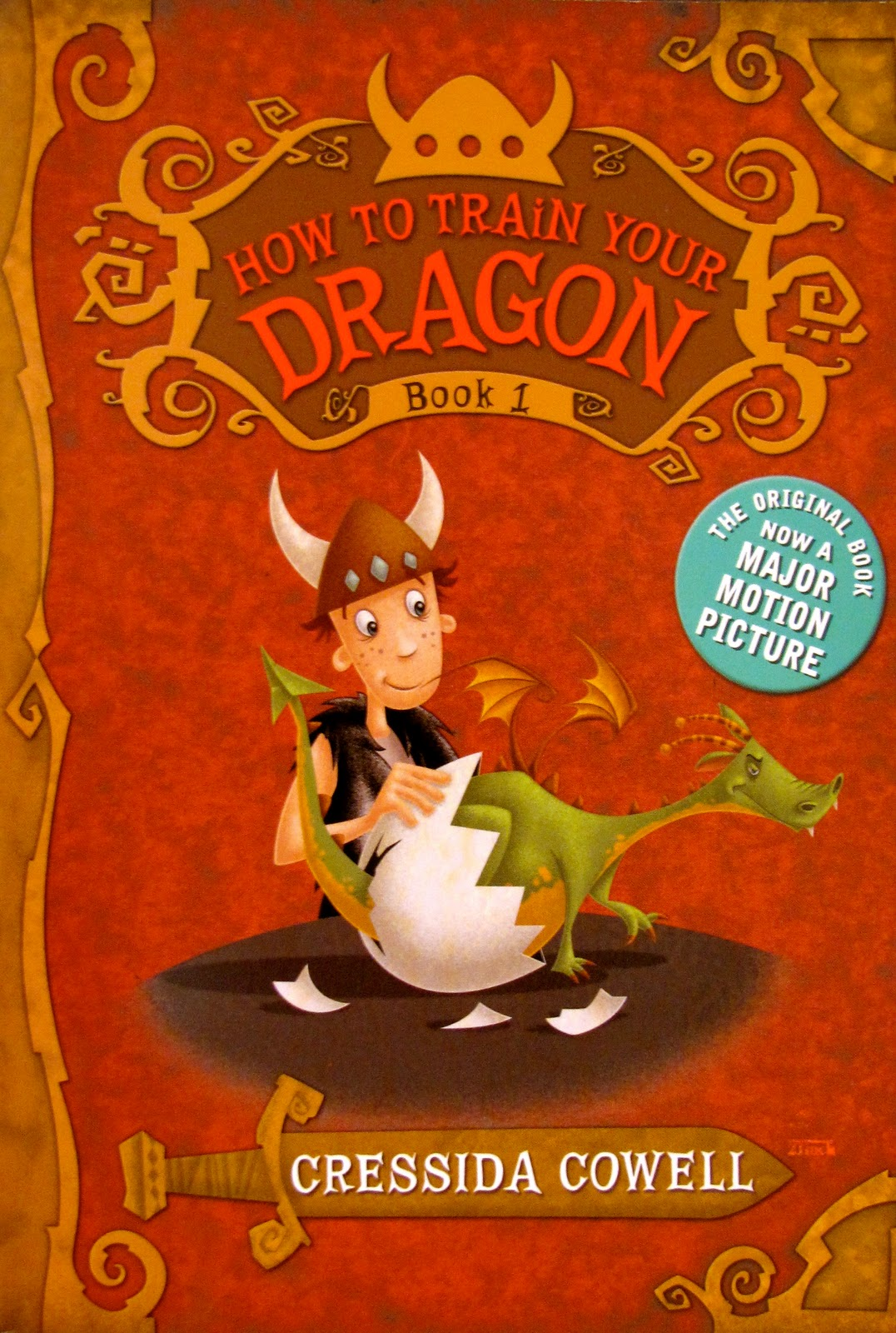Cowell - How to train your dragon book