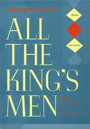 "Warren - All the King""s Men"