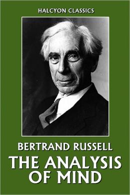Russell - The Analysis of Mind