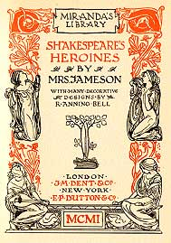 Jameson - Shakespeare's Heroines