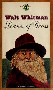 Whitman - Leaves of Grass