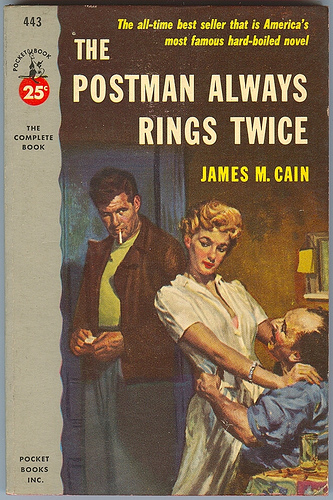Cain - the Postman Always Rings Twice