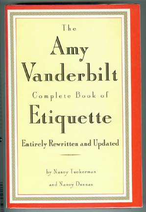 Vanderbilt - Complete Book of Etiquette