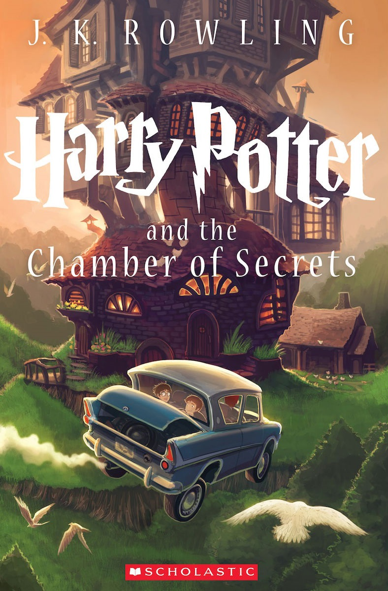 Rowling - HarryPotter & the Chamber of Secrets2
