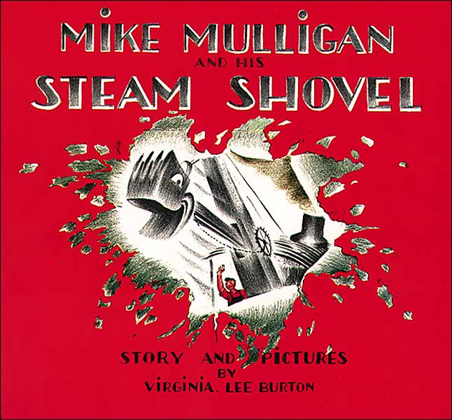 Burton - Mike Mulligan & His Steam Shovel Cover