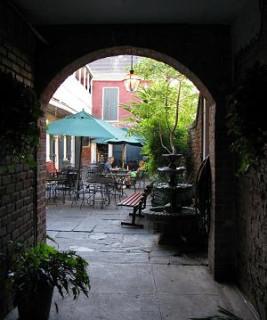 6:01 p.m. Hidden Courtyard