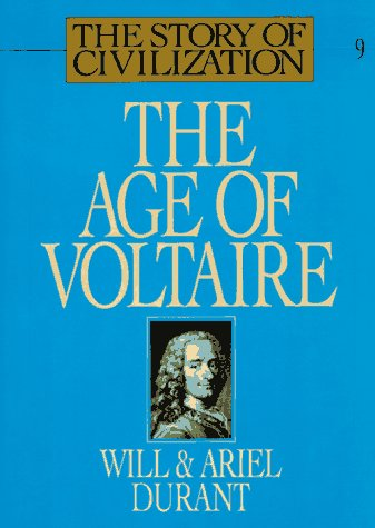 Durant - Age of Voltaire, Story of Civilization