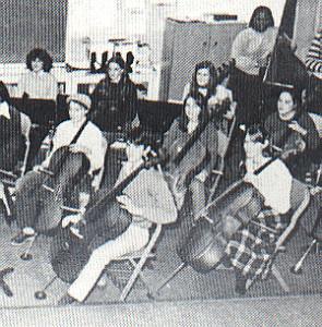 Dermot Mulroney, 1st Chair Cellist, GW Jr High Orchestra