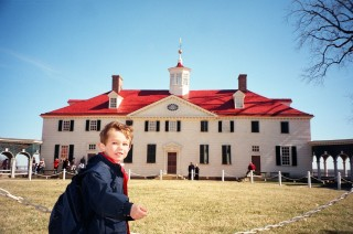 Jon Morgan at Mount Vernon