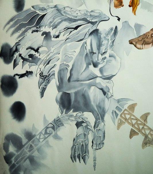 Фрагмент Гамаюн, 2016, Ольга Петрол